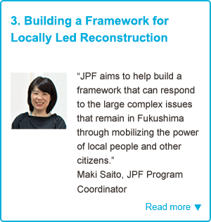 3. Building a Framework for Locally Led Reconstruction