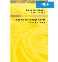 The Good Enough Guide (Japanese version)