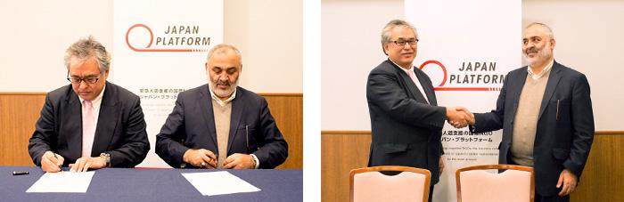 アフガニスタン国家災害管理省と災害対応の協働体制のための覚書を締結