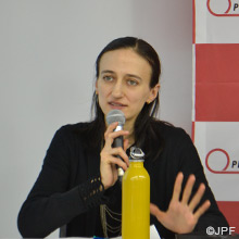 1.技術災害と強制移動:福島からの洞察 モシニャガ アンナ/JPFプログラム・コーディネーター