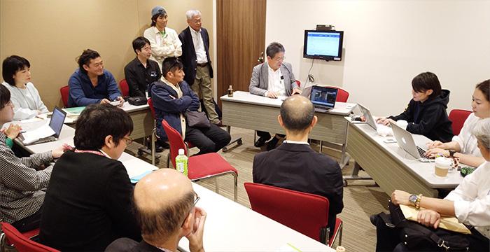 6月8日 JPF熊本地震被災者支援 報告会 「災害時、連携が大事っていうけれど?:JPF熊本地震被災者支援 報告会」