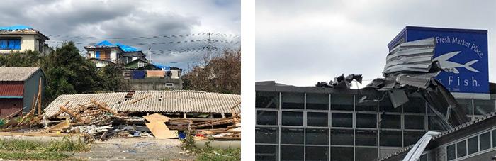 千葉県・館山市から鋸南町近辺の様子(C)JPF