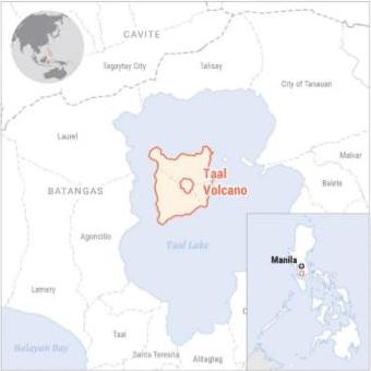 フィリピン・タール火山噴火による被害に対する緊急初動調査を開始