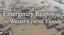 Emergency Response to Western Japan Floods