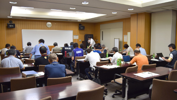 8. The Information sharing meeting with local governments and Social Welfare Council / 11th July Ehime ©JPF