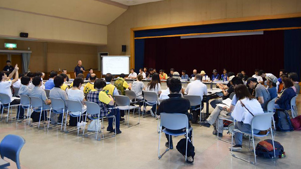27. Ehime regional information sharing meeting, Ehime, 23rd July 2018 ©JPF