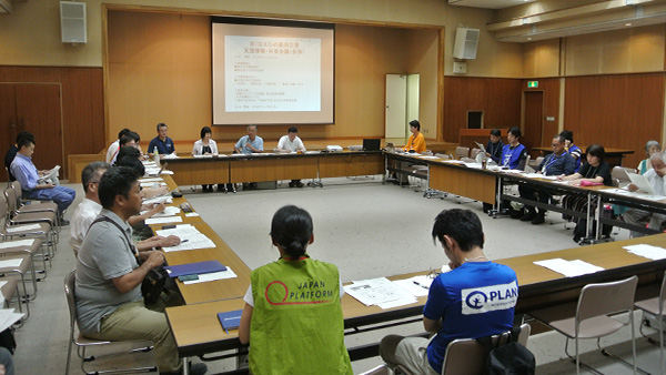 41. Information sharing meeting by aid workers in Ehime / Uwajima Ehime, 30th July, 2018 ©JPF