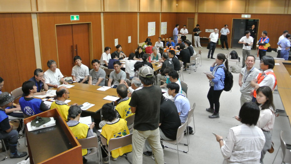 40. Group Session in Information sharing meeting by aid workers in Ehime / Uwajima Ehime, 30th July, 2018 ©JPF