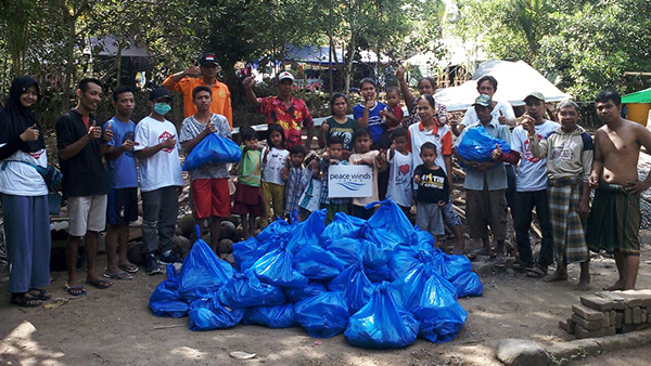 2. Relief Items which have distributed in Affected areas ©PWJ