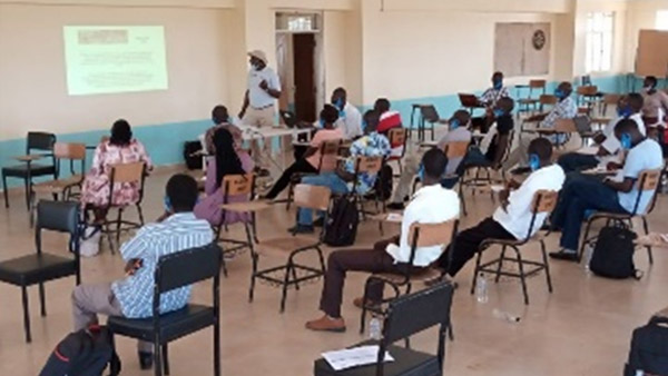 Leadership training for government officials on monitoring and controlling of the locust pests ©PWJ