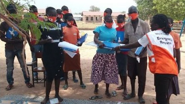 Members of a community-based committee for child protection ©World Vision