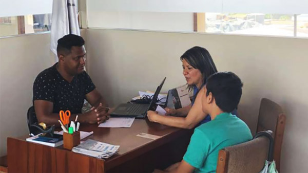 Counseling center for displaced people ©JADE
