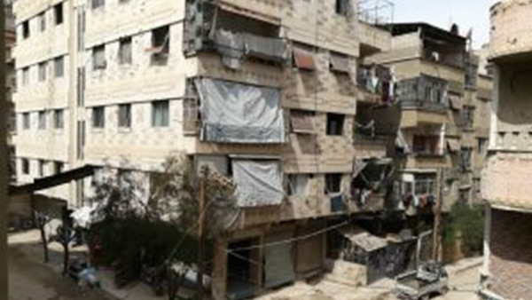 A typical apartment building in Syria ©PWJ